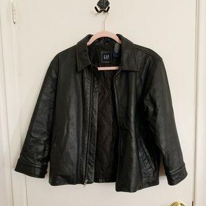 Gap kids leather jacket